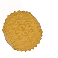massage-ball-02 v2-04.png Download OBJ file Manual acupressure Massage Ball Pain Relief Therapy and Relax 3d print cnc • Object to 3D print, Dzusto