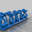 PlateArmour_Melting.png Download free STL file Galactic Crusaders - Special Weapons - 6-8mm • 3D printable template, MoonJammy