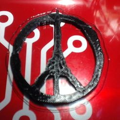 Picture_2.jpg Download free STL file Paris - Stay strong and stay safe, Nation • 3D printing design, l7tech