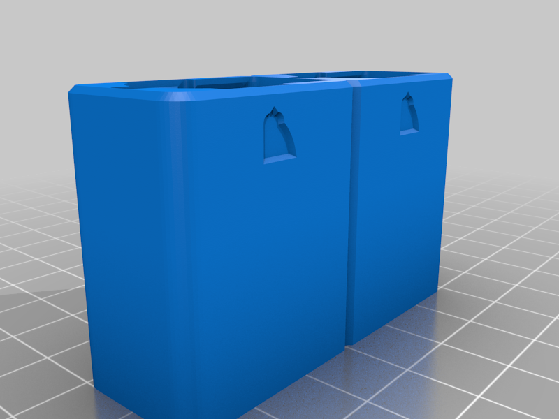 nozzle_case_double.png Download free STL file FlashForge Adventurer3 Nozzle Half Case • 3D printing object, CyberCyclist