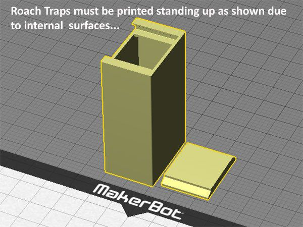 3c532daaa05de3314d4025fc659f21b0_display_large.jpg Download free STL file Roach Trap...Reusable trap to catch and kill cockroaches • Template to 3D print, Muzz64