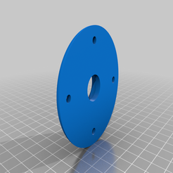 axis.png Download free STL file Bearing hub • 3D printing design, coastermad