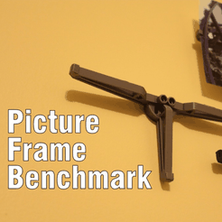 Capture d'écran 2018-04-09 à 14.13.59.png Download free STL file Picture Frame Benchmark • Template to 3D print, DragonflyFabrication