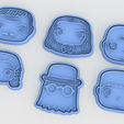 Screenshot_1.png Download STL file The Addams family cookie cutter set of 6 • 3D printer design, roxengames