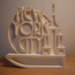 10355573_698647853563600_5350149728192041431_o.jpg Download STL file Empire - 3D Printed Wall Art/Ornament (New York City/Empire State Building) • 3D printer template, ThePursuit
