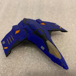 Eagle_MMU_Printed.jpg Télécharger fichier STL gratuit Eagle Multi Colour/Material (Elite Dangerous) • Design à imprimer en 3D, Kahnindustries