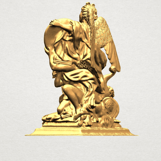 Angel (vi) - A04.png Download free STL file Angel 06 • Design to 3D print, GeorgesNikkei