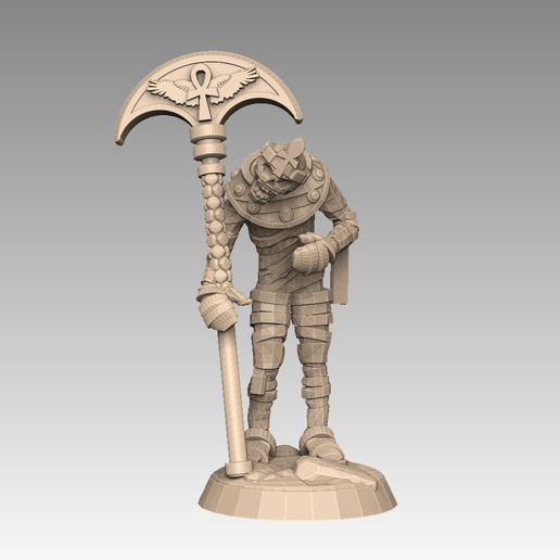 mh2-prom2b.jpg Download STL file Mummy Pack 1 • 3D printing object, SharedogMiniatures