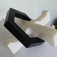 Printed Cross Puzzle.PNG Download STL file Puzzle - Newton's Helicopter Puzzle • Design to 3D print, Brad3D