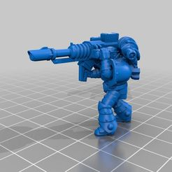 1947aa467e60d74847a07cd7411641ac_display_large.jpg Download free STL file Laser cannon marine • 3D print model, KarnageKing