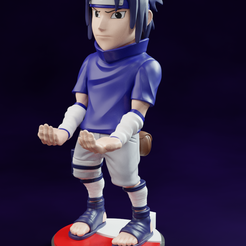 Add-Watermark_2021_02_12_01_58_51-(4).png Download STL file Sasuke Naruto cellphone and joystick holder • Object to 3D print, RCM3D