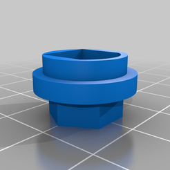 NB4_Adapter.png Download free STL file Flysky Noble NB4 12mm Hex Wheel Adapter • 3D printing model, jrfoell