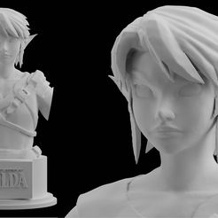 1.jpg Download STL file Zelda Farmer Link Twilight Princess Nintendo  • 3D print design, BlueAzureArt
