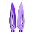 UtilityPin_10_Daggers_3DKitbash.stl Download free STL file RukiBot • 3D printing template, Quincy_of_3DKitbash