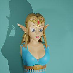 zelda1.png Download STL file Princess of Time • 3D print object, carloscev5
