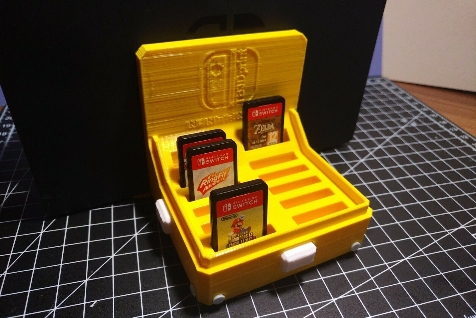 IMG_20210203_1728188.jpg Télécharger fichier STL Nintendo Switch Game Card Storage • Plan imprimable en 3D, TimBauer-TB3Dprint