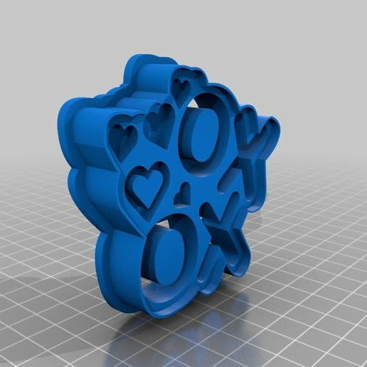 OogiMe_-_XOXO.png Download free STL file XOXO Cookie Cutter (Valentine's Day Collection) • 3D printing design, OogiMe