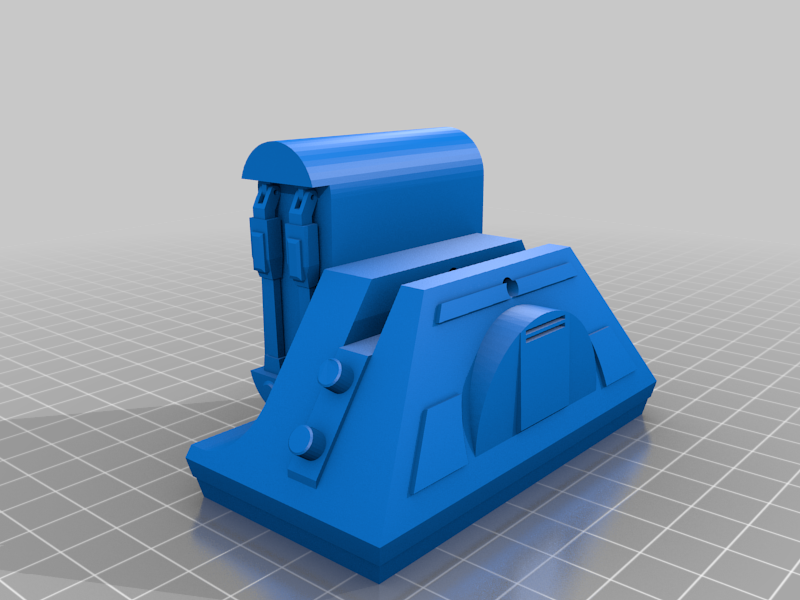 Fixed_left_foot.png Download free STL file R2D2 Echo Dot 3rd Gen Stand • Design to 3D print, Doenermaker