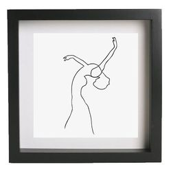 Frame - Picasso - Woman 2.jpg Download free STL file Wall art - Picasso - Woman 2 • 3D print object, InSpace