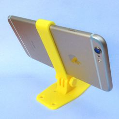 3dex_4611.jpg Download free STL file iPhone Camera Mount for iPhone 6/6S/7 (+Plus) • 3D printer model, 3DexLtd