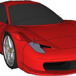 ferrari_458_kit_display_large.jpg Download free STL file Ferrari 458 Model Kit • 3D print design, AliSouskian