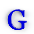 g3.png Download free STL file Letras / abecedario completo • Object to 3D print, Lubal