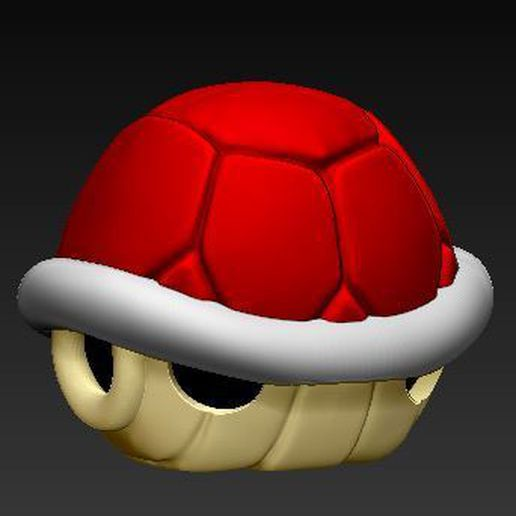 carapace 1.JPG Download STL file Shell of koopa • Object to 3D print, grogro