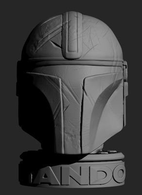 ZBrush ScreenGrab01.jpg Download STL file Mando • 3D print object, 3dbyalex