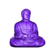 BuddhaMagnet.stl Download free STL file Misc. Magnets • 3D printable template, EmbossIndustries