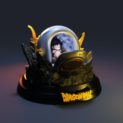nave 2.1160.png Download STL file arrival Open Dragon ball • 3D print design, lilia3dprint