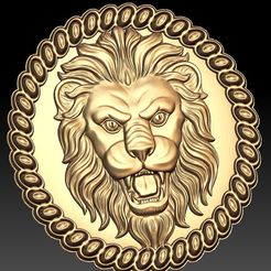 91.jpg Download free STL file Lion face cnc art • 3D printing template, 3Dprintablefile