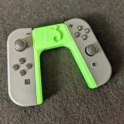 IMG_20200328_134011.jpg Download free STL file Nook Animal Crossing Switch Joy-Con Holder • 3D printing template, ismaan