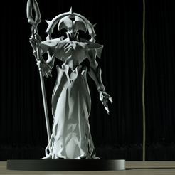 Maykr-Statue-(2).png Download STL file Maykr Statue • 3D printable object, ThePrint3DBoy