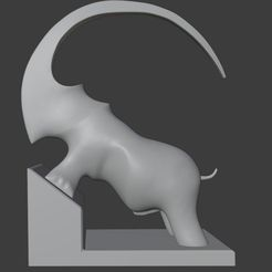 00.jpg Download free file Decor Rhino - new style • 3D printing object, PoorSculptor