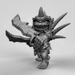 c6a2e32c529648ae5d27b8f806920b44_display_large.jpg Download free STL file Goblin leader • 3D printer object, duncanshadow