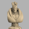 Annotation 2020-09-03 170717.png Download STL file Android 16 Bust • Template to 3D print, DBZmodel