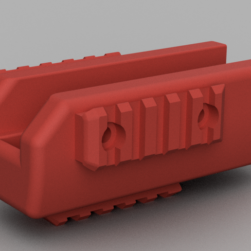 Forend.png Download free STL file optional Forend • 3D printer object, EvolvingExtrusions
