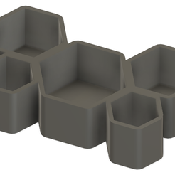 Screenshot_23.png Download free STL file Honeycomb Pot • 3D printer template, Isi8Bit