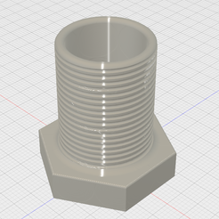 PencilHold.PNG Download STL file Bolt Pencil Holder • Template to 3D print, GForceFX