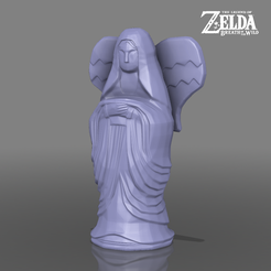goddessstatuebig.png Download STL file Goddess Statue - Temple of Time - The Legend of Zelda - Breath of the Wild • Template to 3D print, 3DXperts
