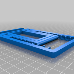 """CE3PRO_folding_stand_v4_130_pct.png Download free STL file Even Bigger Universal Folding Cell Phone Stand - Fits Phones With 6"""" Screens • 3D printable template, SevenCornersWorkshop"""