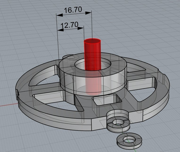 routerguidedims.PNG Download free GCODE file Ryobi Router R1631K Template Guide • 3D printable design, ThinkSolutions