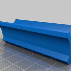 Lower_Rail.png Download free STL file Lower Rail for Airsoft AAP-01 for Slong G-Kriss • 3D printer design, jdteixeira