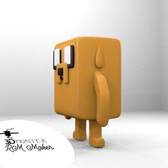 jake2.jpg Download free STL file Funko Jake - Adventure Time • 3D printable design, RMMAKER