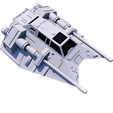 7.png Download STL file SHIP T-47 STAR WARS • 3D printer template, 3Diego