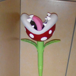 Sans_titre.png Download free STL file Piranha Plant Toilet Brush • 3D print object, JeanSeb