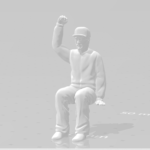 Snapshot_10.png Download STL file Man Seated Man Seated • 3D print model, moviemasterdvd