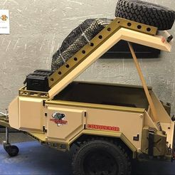 IMG_5934.JPG Download STL file RC 1/10 Trailer Scale Conqueror UEV360 Off-Road • Template to 3D print, FredRcScale