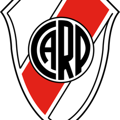 river-plate-logo-3.png Download free STL file river shield • 3D printing object, rolipatagonico