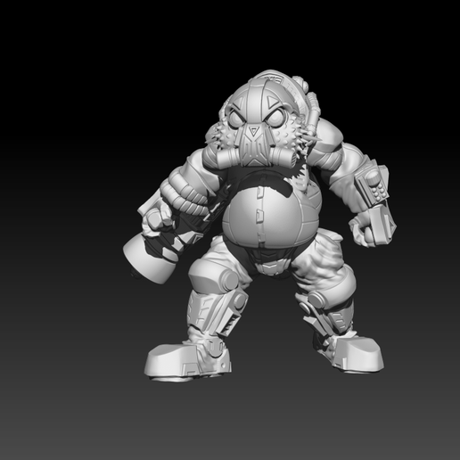 Preview3_2.png Download STL file The Shoal - Heavy Brawlers • 3D printable design, El_Mutanto